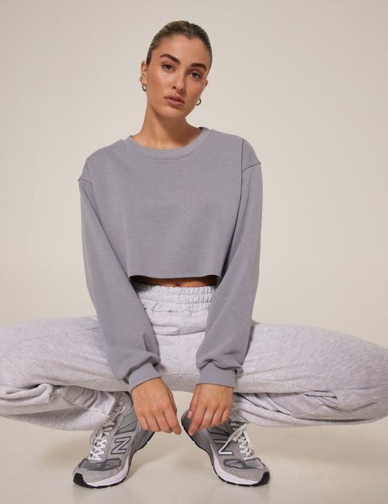 Γυναικείο φούτερ μπλούζα με μακρύ μανίκι
